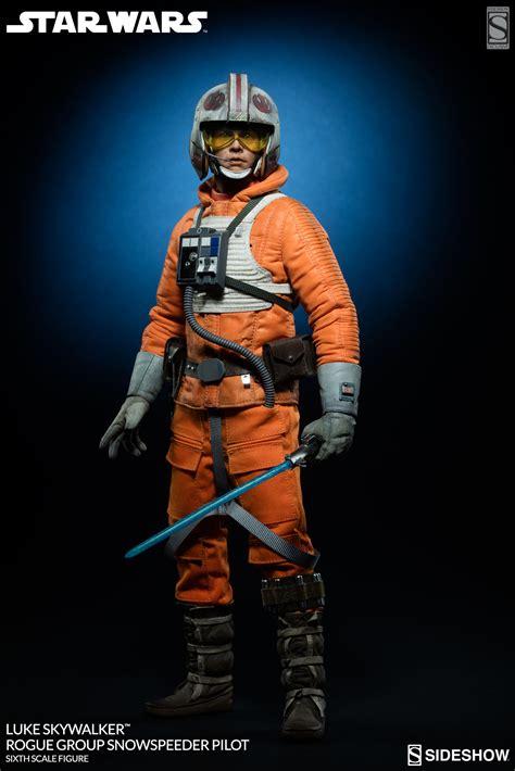 Figure Pilot wars luke skywalker rogue snowspeeder pilot sixth sideshow collectibles