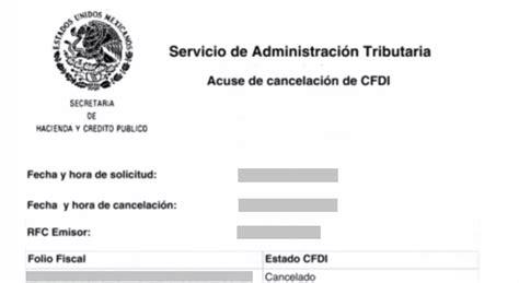 acuse de recibo digital 191 c 243 mo cancelar una factura electr 243 nica cfdi facturando