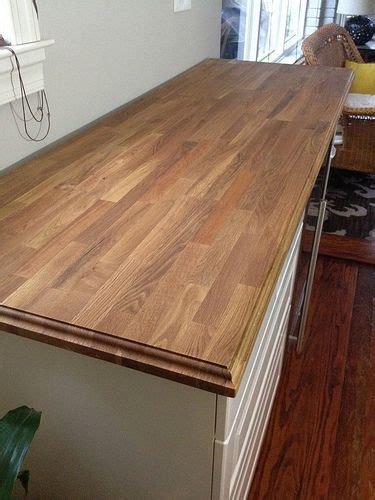 how to route a decorative edge onto butcherblock for the