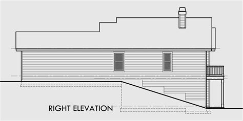 floor plans for sloped lots house plans for rear sloped lots house plans