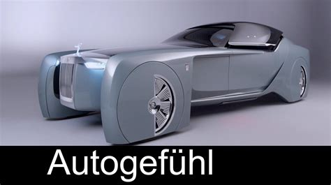 future rolls rolls royce future car concept quot vision next 100