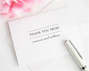simple elegance thank you cards thank you cards by shine