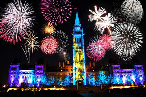 history of new year in canada ottawa canada new year fireworks display photo pictures