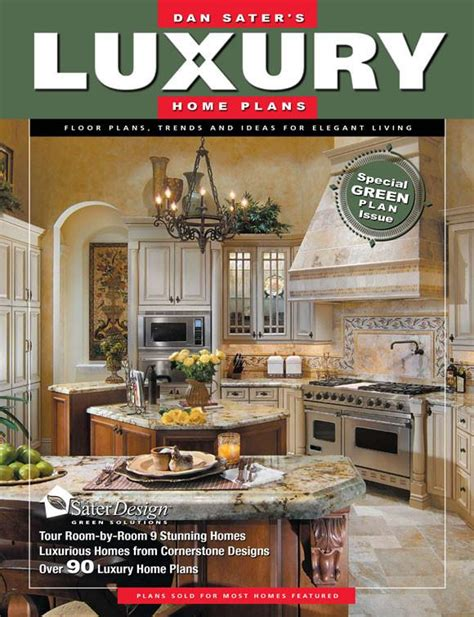 home plans magazine luxury home plans 6 sater design collection