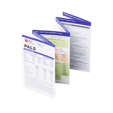 Template For Pocket Reference Card by Pals Pocket Reference Card Aacn