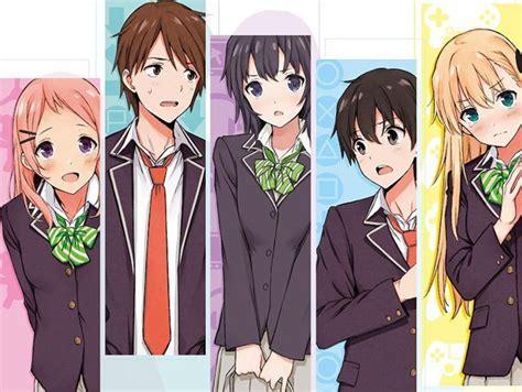 anime the gamers el anime de gamers tiene mes de estreno koi nya net