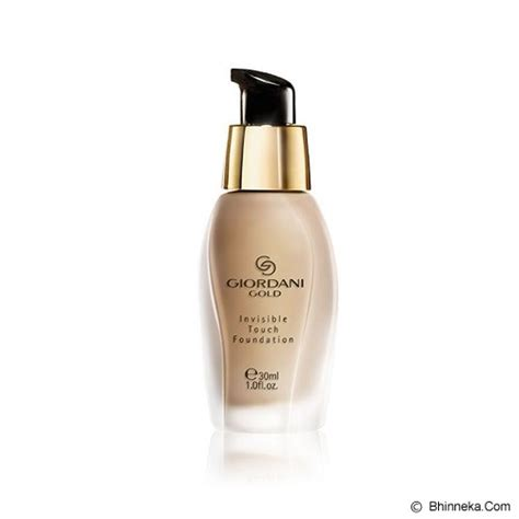 Giordani Gold Make Up Wajah jual oriflame giordani gold invisible touch foundation