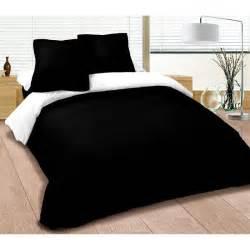 parure de lit noir et blanc achat vente parure de drap