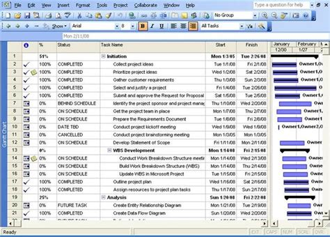 excel 2010 project plan template project plan template spreadsheet exle excel project