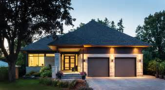 House Floor Plans With Walkout Basement custom home courtyard bungalow christopher simmonds