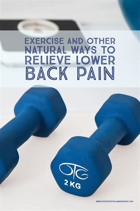 7 Ways To Ease Back by Exercise And Other Ways To Relieve Lower Back