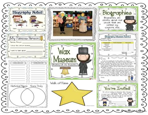 biography unit ideas 9 best 4th grade wax museum images on pinterest wax