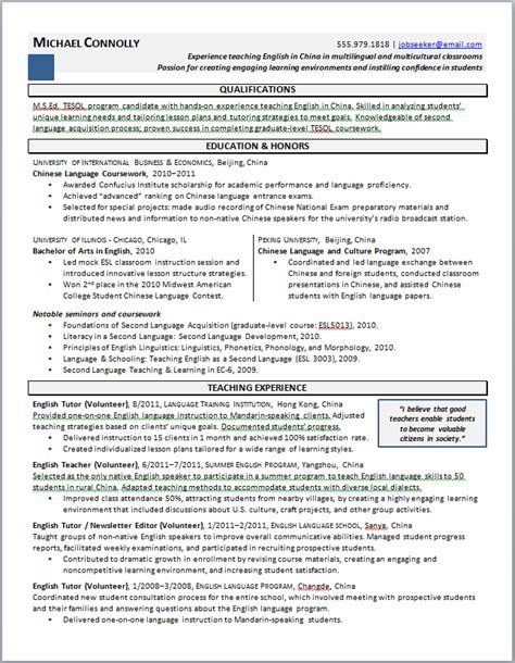 Graduate School Resume Exle by Nursing Resume For Graduate School Admission