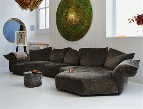 poltrone edra standard sofa by francesco binfar 233 for edra