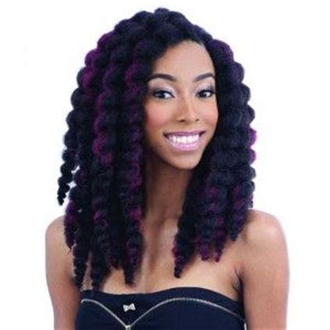 latching hair freetress crochet latch hook braid bouncy twist out