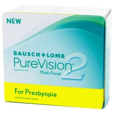 most comfortable multifocal contact lenses purevision