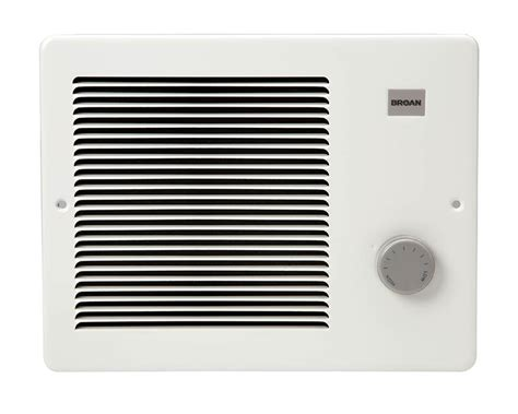 nutone heaters bathrooms broan nutone 174 heater wall comfort flo at sutherlands