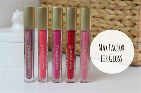 Lipgloss Max Factor max factor lipgloss a junkie in