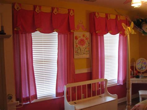curtain ideas for little girl rooms hand made window treatment for little girl s bedroom by