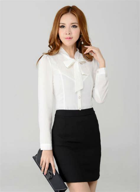 Fashion Blouse Set new autumn winter skirt suit work wear sets