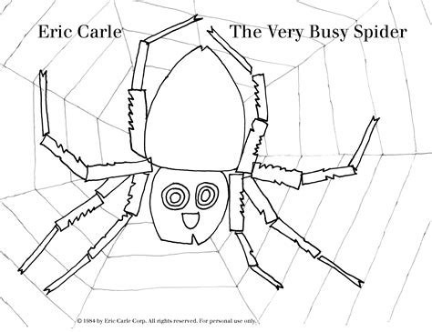 The Official Eric Carle Web Site Coloring Page Eric Carle Coloring Pages