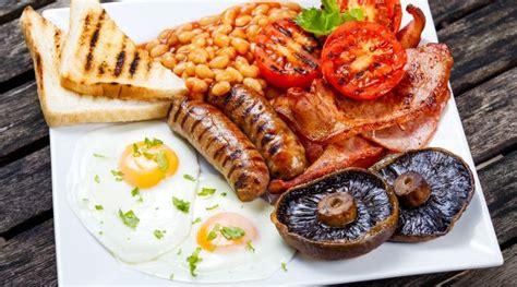 englisch spiegelei breakfast englisches fr 252 hst 252 ck