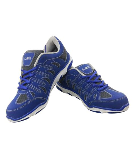 trendy athletic shoes lmx blue trendy running shoes price in india buy lmx blue