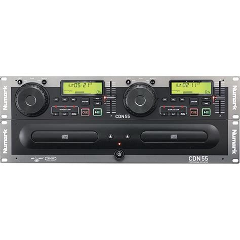 Rack Mount Player by Numark Cdn55 Rack Mount Professional Dual Cd Player
