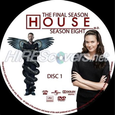 House Md Season 8 by Dvd Cover Custom Dvd Covers Bluray Label Dvd