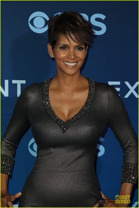 Halle Gets by Halle Berry Gets Support From Olivier Martinez At Extant