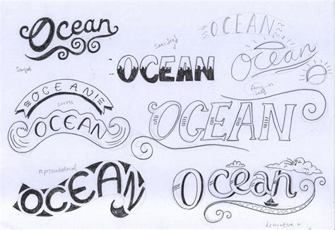 tutorial lettering font holy s t is that the ocean by kate rowland skillshare