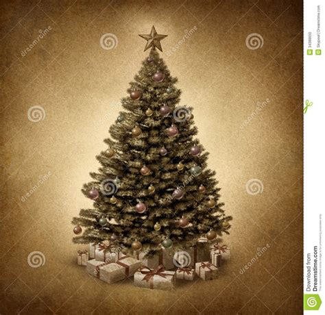 home design ideas old fashioned christmas trees decorated