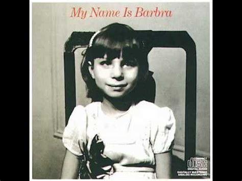barbra streisand zoo song 5 quot sweet zoo quot barbra streisand my name is barbra youtube