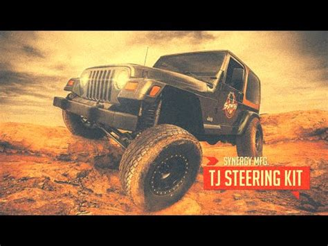 Jeep Tj Steering Der Poly Performance Synergy Jeep Tj Lj Xj Zj Mj Heavy