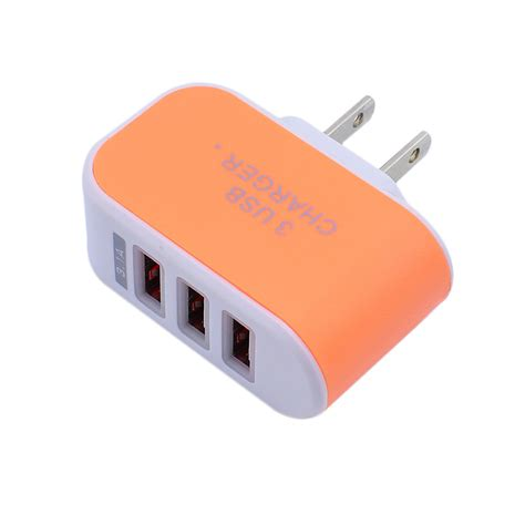 Ac Portable Usb portable 3 usb port wall charger adapter eu us