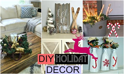 diy holiday room decor diy christmas youtube