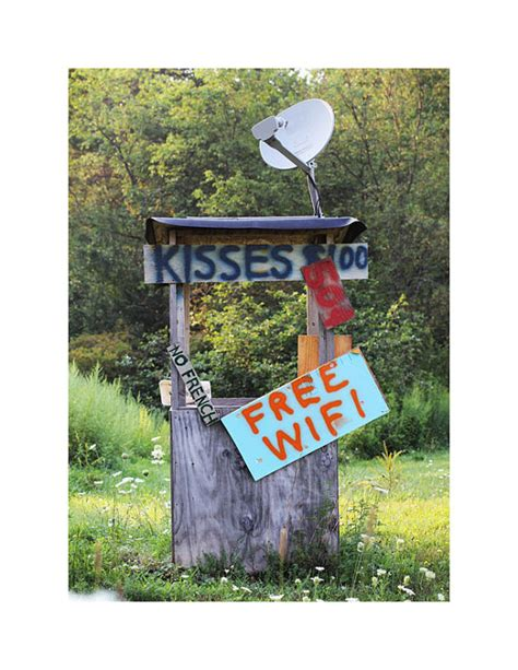 Redneck Home Decor | kissing booth photograph redneck decor rustic home decor