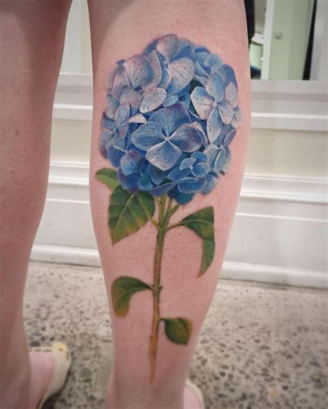 hydrangea tattoo 20 hydrangea tattoos tattoofanblog