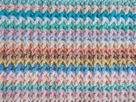 stitches blanket marianna s lazy days v stitch blanket