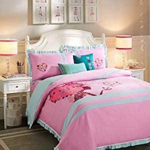 girls luxury bedding amazon com modern girl pink bedding duvet cover set girls