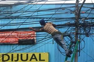 Kabel Instalasi Listrik 411 desa di maluku utara belum teraliri listrik