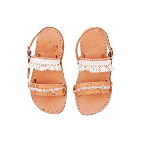 Sandals Handmade - flower handmade leather sandals by iris