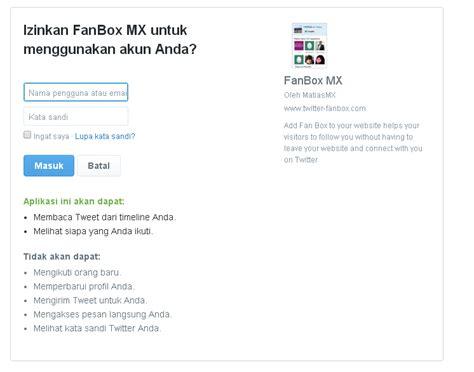membuat twitter di website cara membuat twitter fan follower box di blogger shinta