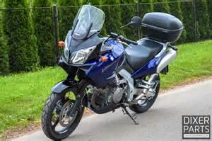 Suzuki Dl1000 V Strom Specs Suzuki Dl1000 V Strom 2004r Pierwszy W蛯a蝗ciciel Kufer Givi