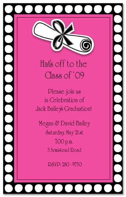 invites images  pinterest grad parties