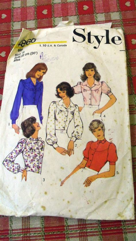 922 best style vintage images on pinterest missionary auction 1 vintage complete used style pattern