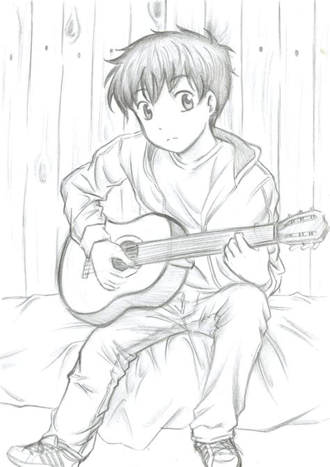Drawings For Your Boyfriend by My Boyfriend Guitar By Flodoyle On Deviantart