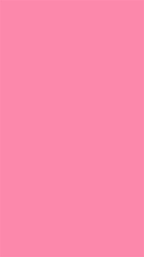 wallpaper solid pink 640x1136 tickle me pink solid color background