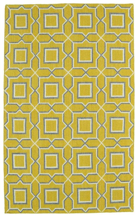 Yellow Area Rugs Contemporary Kaleen Rugs Glam Gla06 28 Yellow Area Rug Carpetmart
