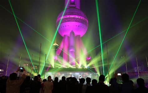 3d light show 3d light show displayed in shanghai